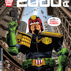 Start your 2000 AD and Judge Dredd adventures here: A review of Prog 1973