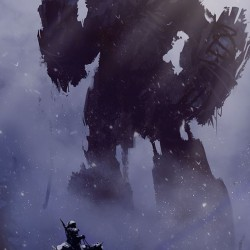 Towering Shadow of the Colossus poster