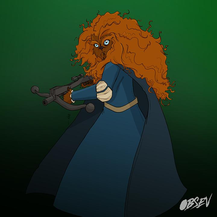 Disney Princess Wookie 1