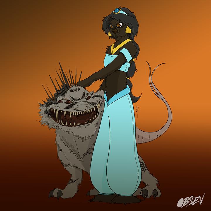 Disney Princess Wookie 3