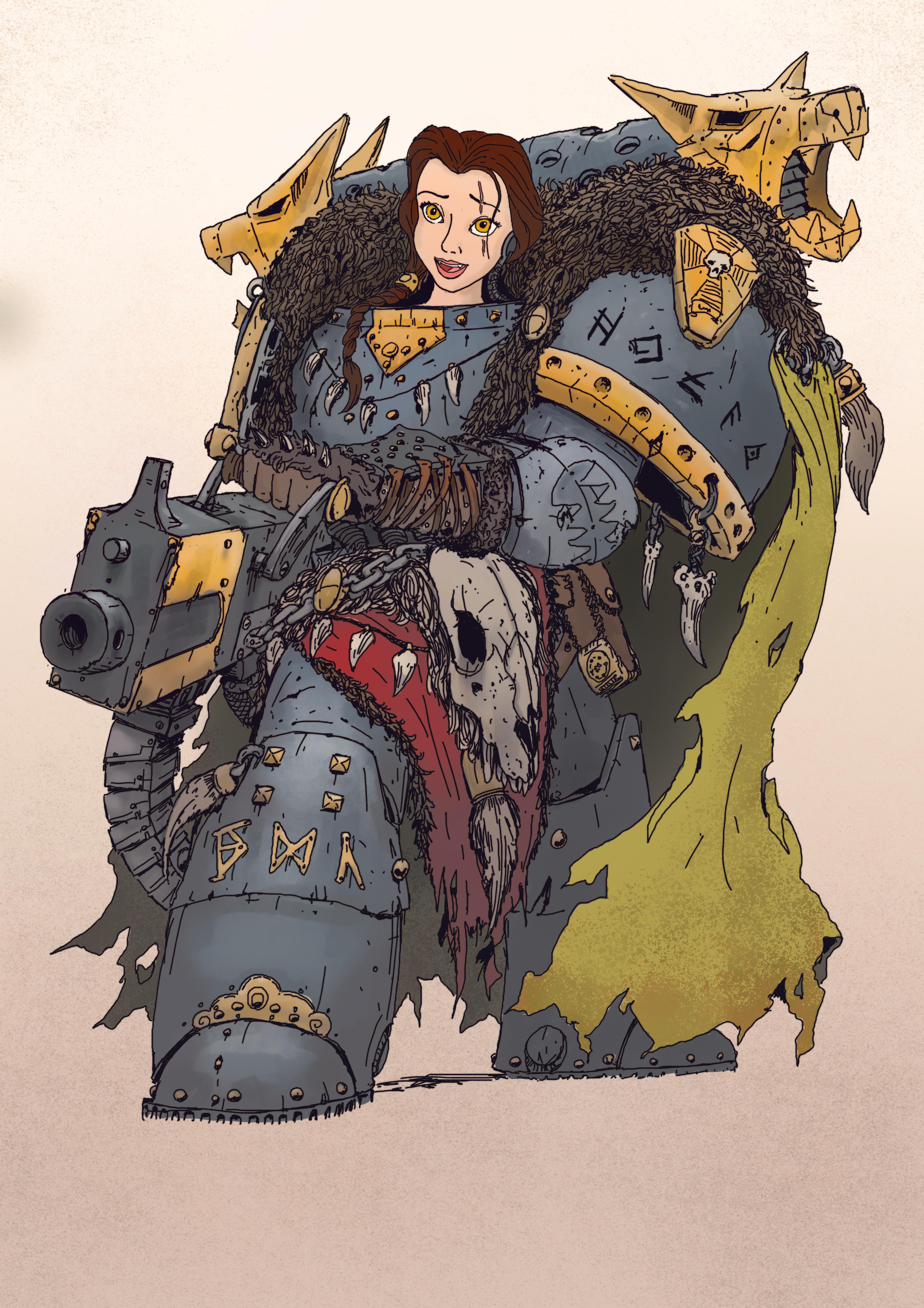 Warhammer 40K princess 3
