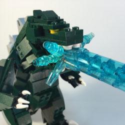 Godzilla's atomic breath