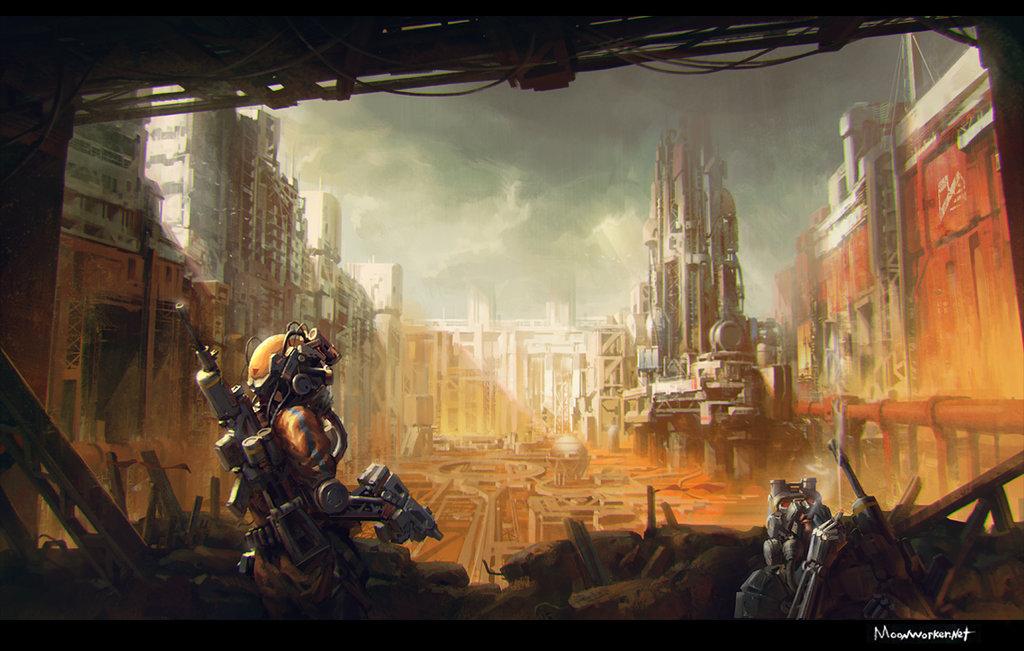 nomad_miningsite_by_moonworker1-d6vsg3q