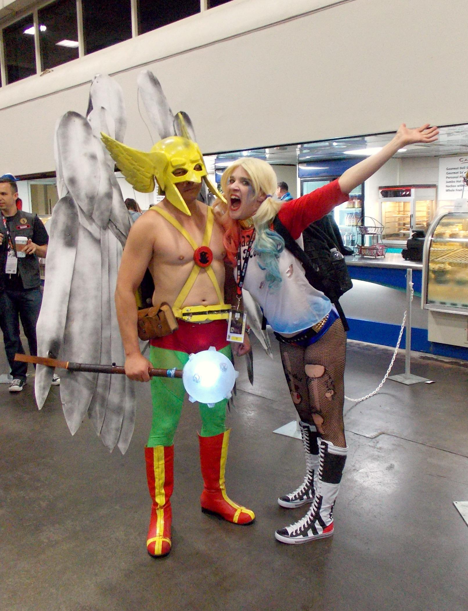 Hawkman and Harley