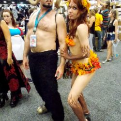 Delightful couples costumes spotted at the 2016 San Diego Comic Con