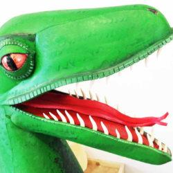 12 Masks of Halloween: #3 Velociraptor Dinosaur Mask