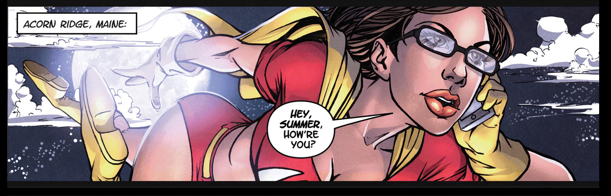 Superhero Nerd A Review Of Geek-Girl 1-4212