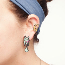 Adorn your ears with these Squirrel Girl earrings