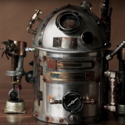 Turn your dull teapot into a steampunk R2-D2