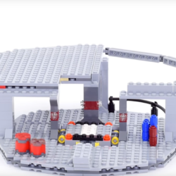 Graceful Death Star LEGO stop motions