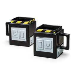 Geeky Father's Day gift in the form of Ghostbuster trap mugs