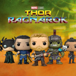 Superhero Week: Thor Ragnarok Pops look cutely awesome