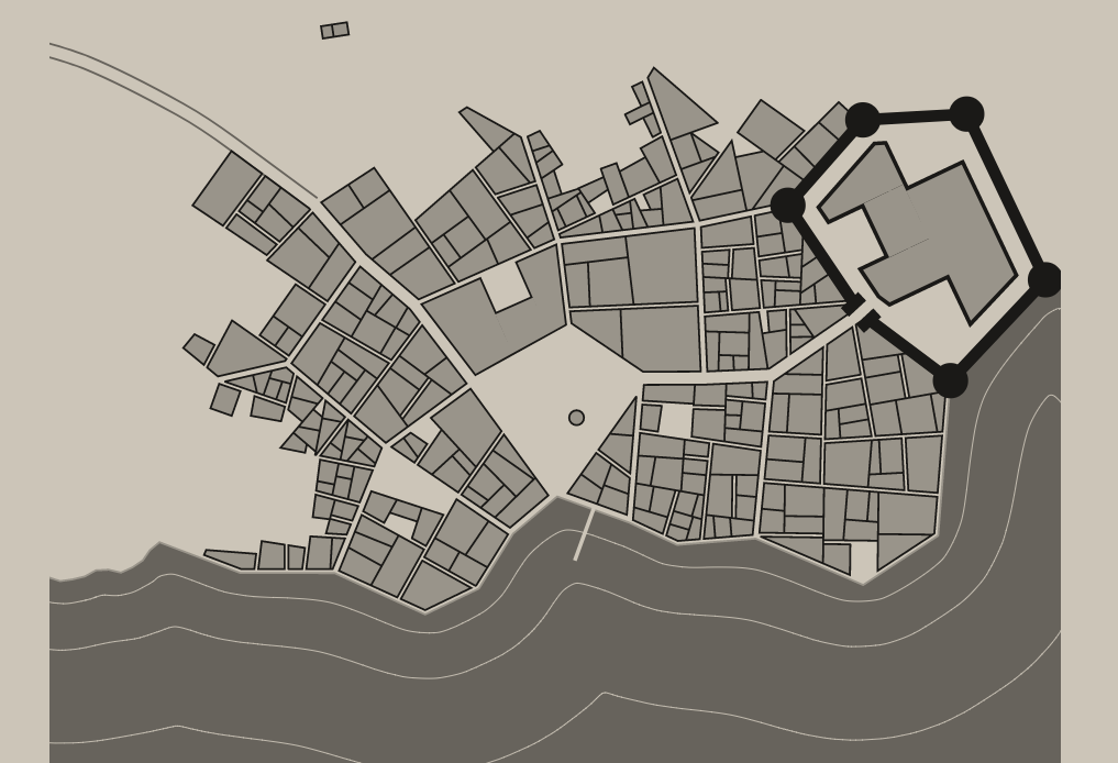 Fantasy city map generator