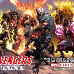 Marvel goes way back with the prehistoric 1,000,000 BC Avengers