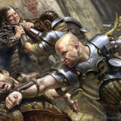 Stabbed seven times after a Magic: The Gathering fight