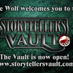 White Wolf launch the Storytellers Vault