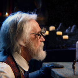 "A steampunk magician in L'Orange's ""Blame the Author"""