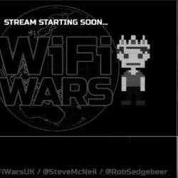 Join in Go 8-Bit stars with WiFi War's fun public stream games