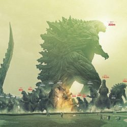 Godzilla is 3x larger in Monster Planet