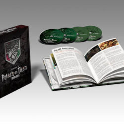 Attack on Titan Season 2 Collector's Edition will be a Zavvi exclusive