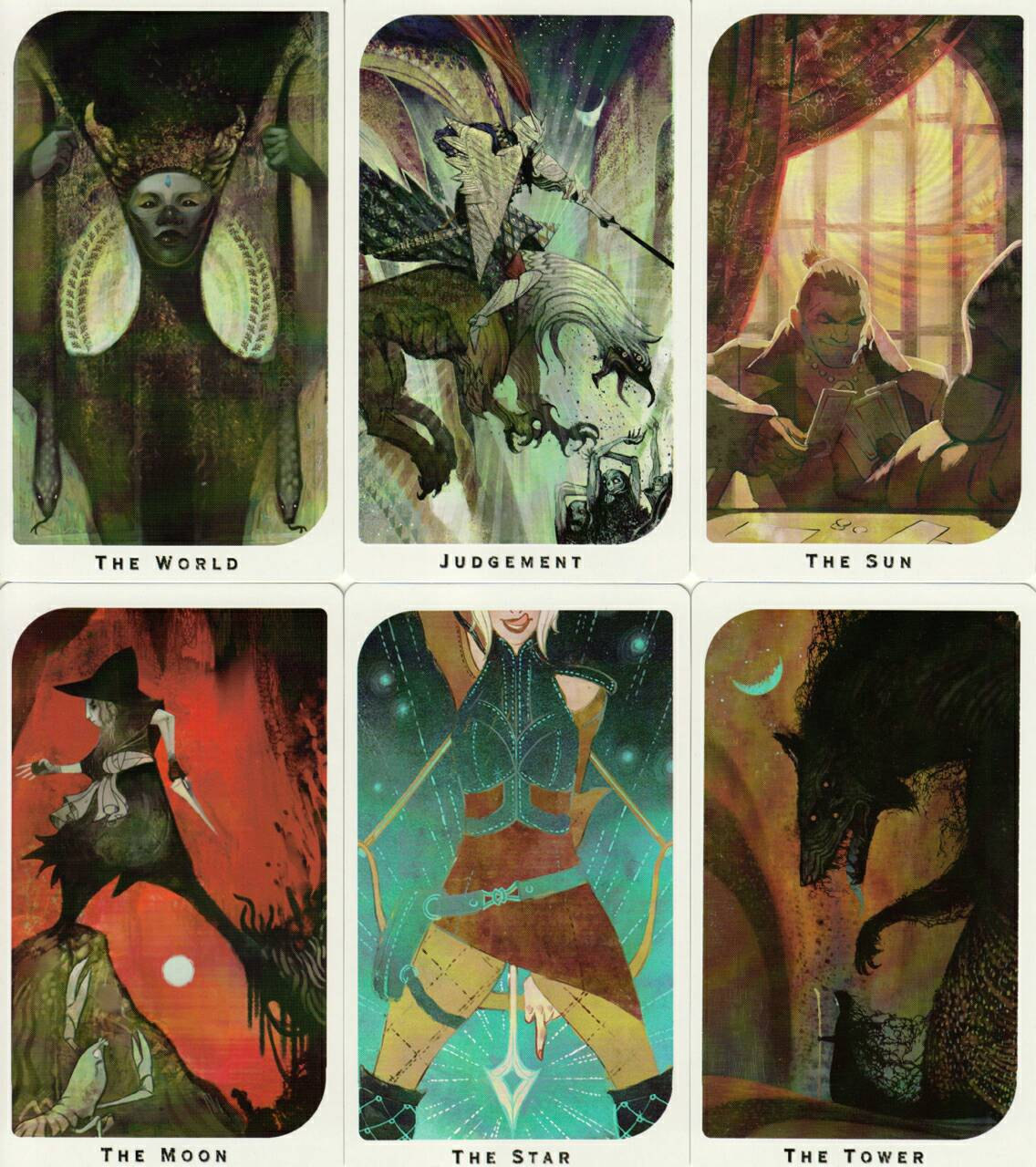 how to read dragon tarot cards