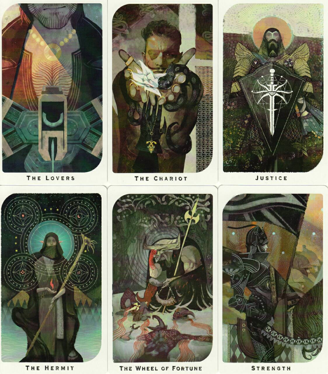 Dragon Age Inquisition Arcana Tarot deck