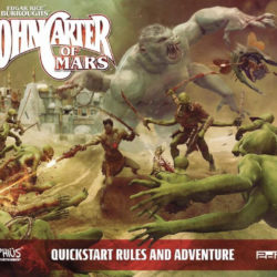 Free to Download: John Carter of Mars RPG quick start rules