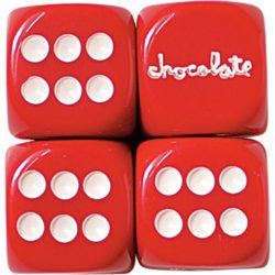 Is this a thing for Valentine's Day? Chocolate dice