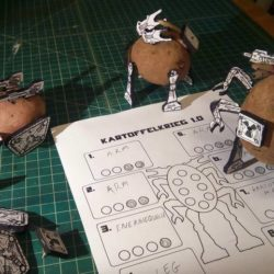 Here's a dumb wargame about mechanized fighting potatoes!