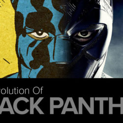 The evolution of Black Panther [infographic]