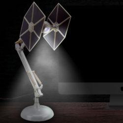 Pew-pew-pew! TIE Fighter lamp
