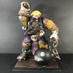 Custom Warrior Wario fantasy figure