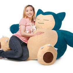 4 feet of Snorlax for your gaming den