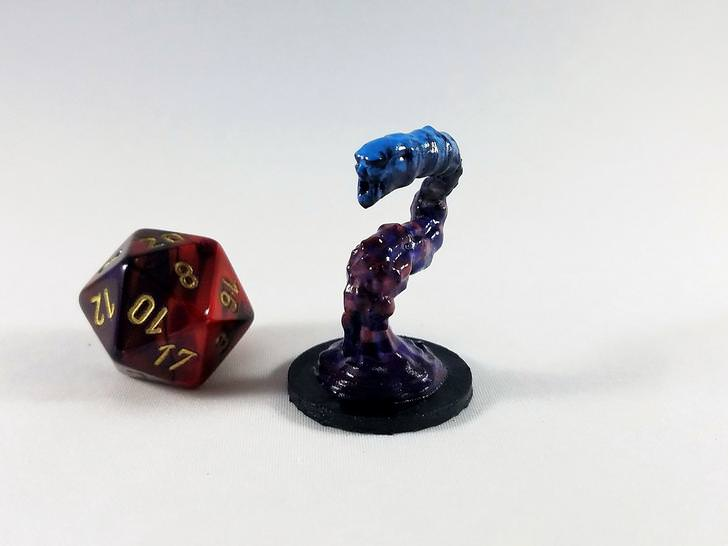 Every monster in D&D's Volo's Guide to Monsters 3D printed