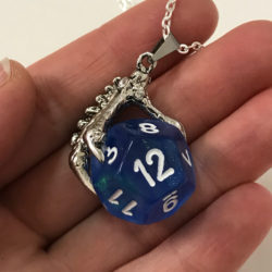 TradeCraft Bonus: More Dungeons & Dragons inspired dice jewellery from Mage Studio