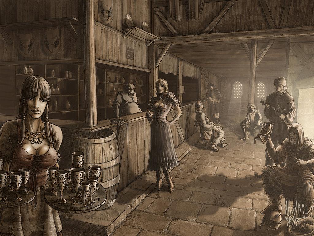 Dd Fantasy Tavern Art
