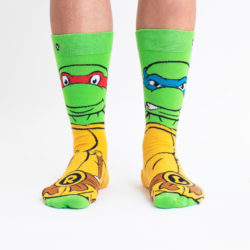 Superhero Week: Teenage Mutant Ninja Turtle socks