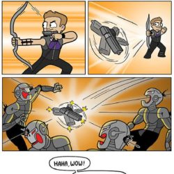 Superhero Week: That time Hawkeye used a gun