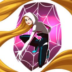 Superhero Week: Robby Cook's Marvel Princesses