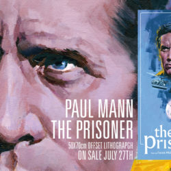 Vice Press with limited The Prisoner poster