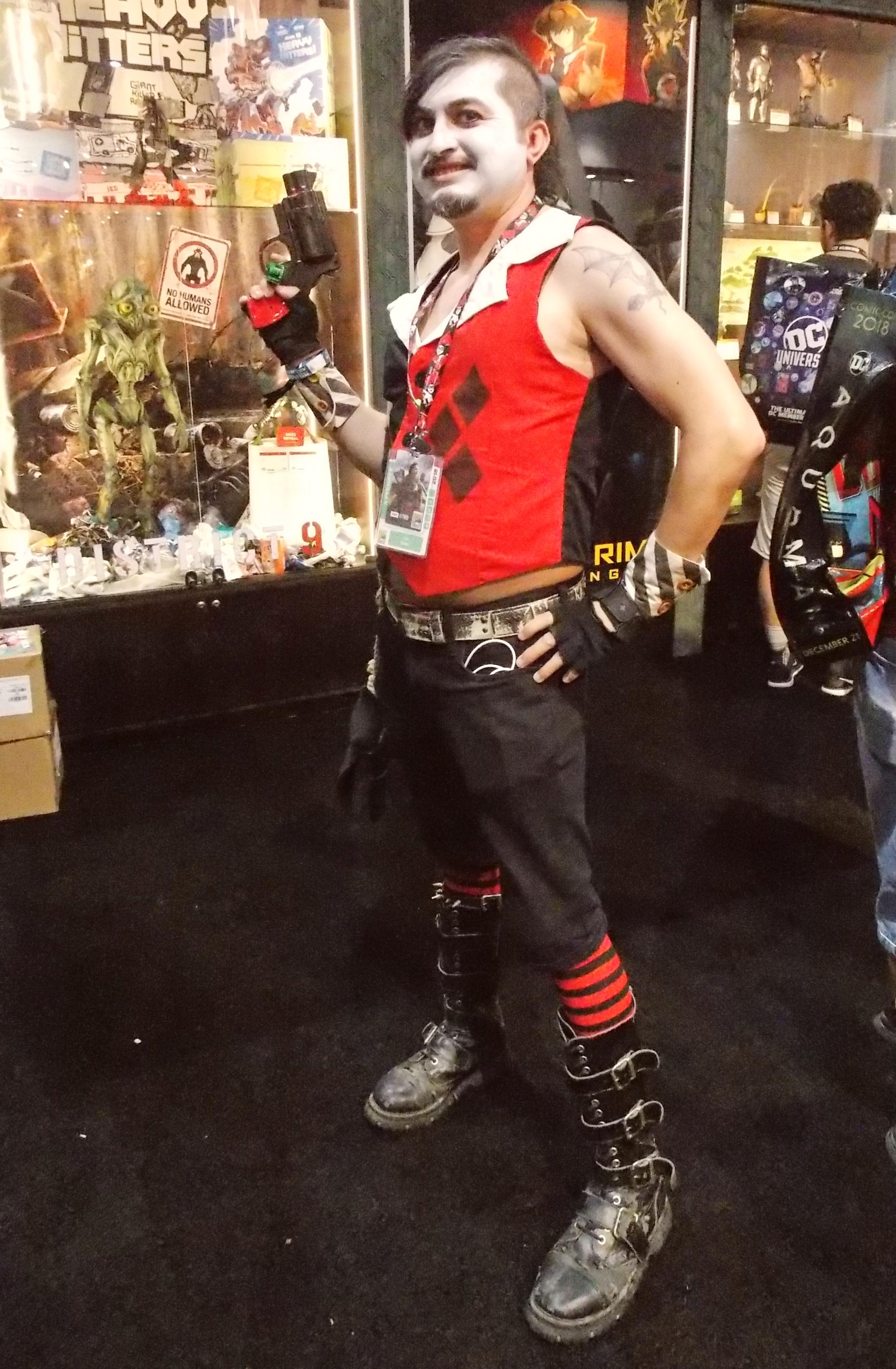 Rule 63 Harley Quinn