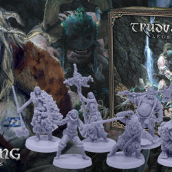 CMON planning a Trudvang Legends board game
