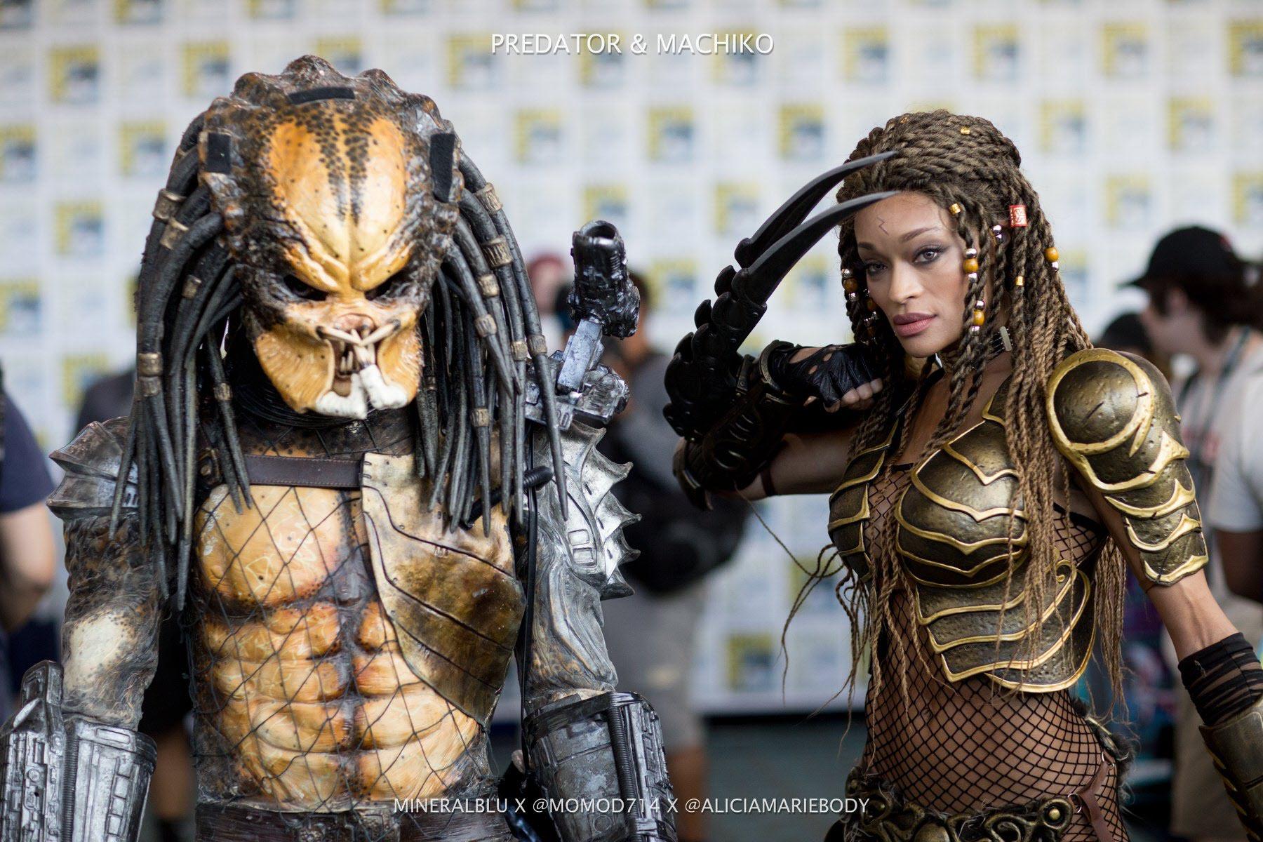 Predator and Machiko