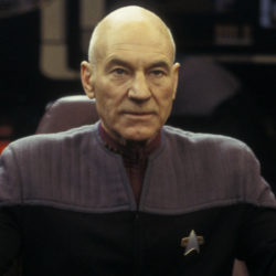Captain Jean-Luc Picard returns to Star Trek
