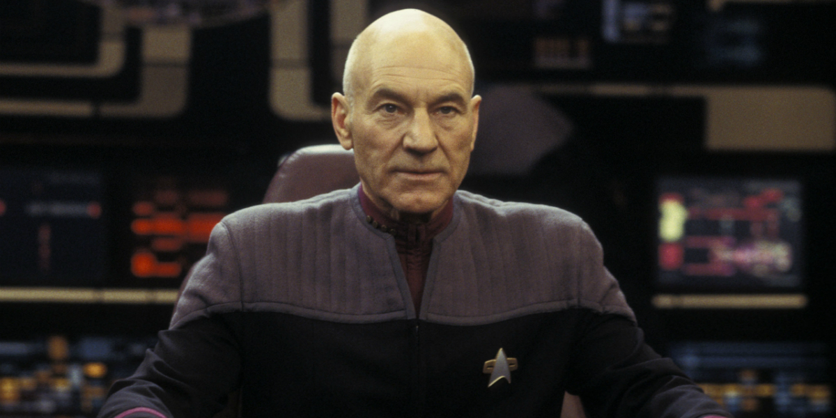 Patrick Stewart as Captain Jean-Luc Picard