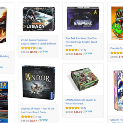 40% of Amazon board games