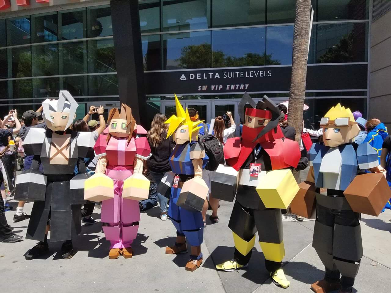 Final Fantasy VII cosplay