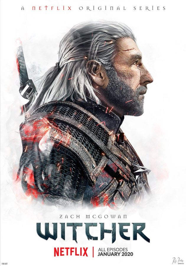 Zach McGowan as The Witcher