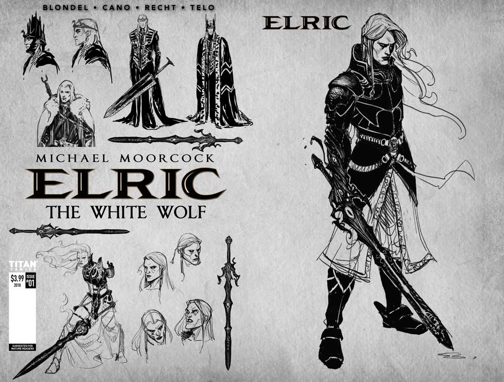 Elric the White Wolf (cover c)