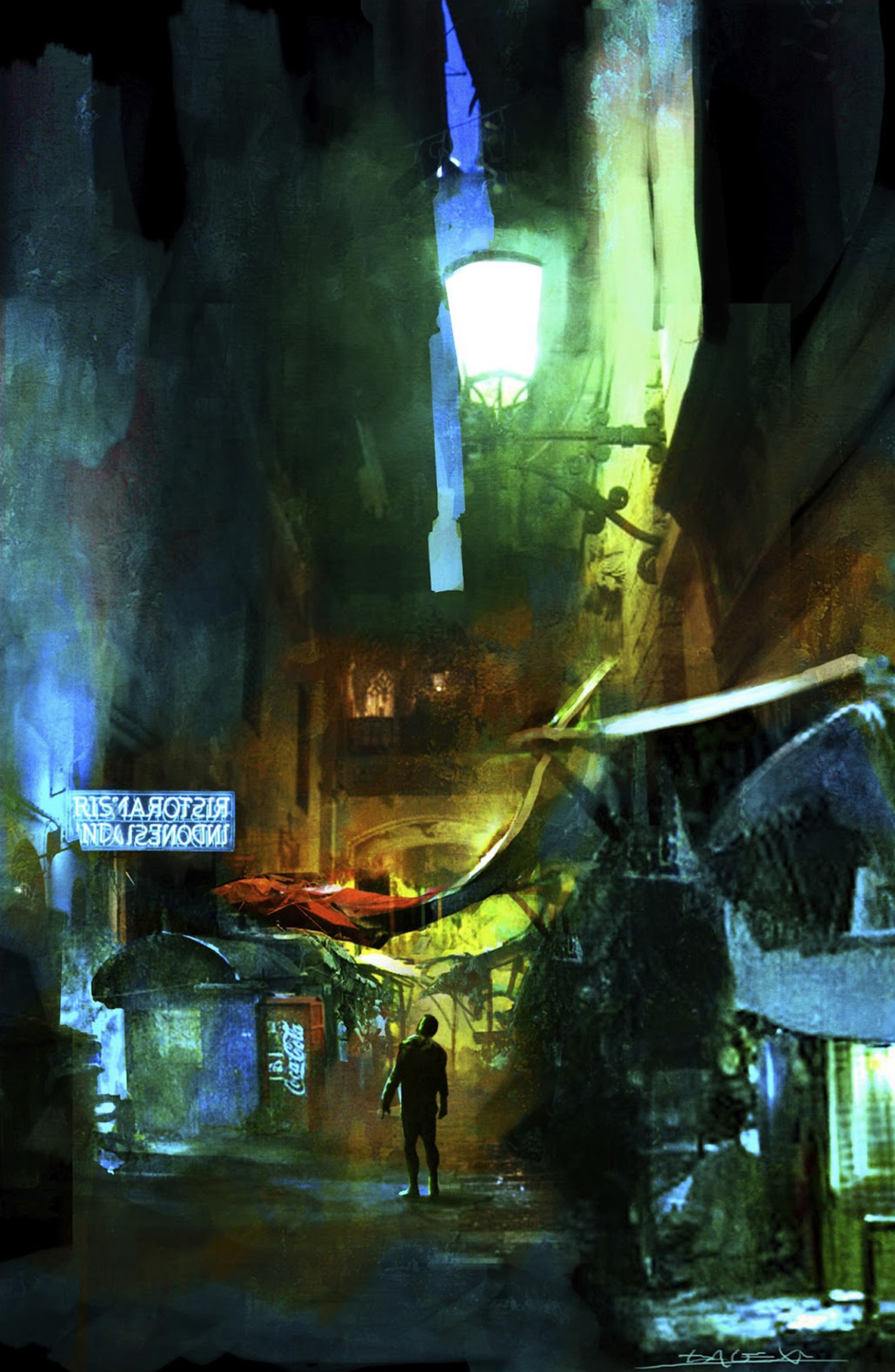 Alessandro Taini - Cyberpunk Alley